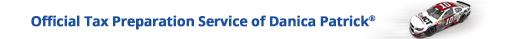Official Tax Preparation Service of Danica Patrick®