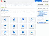 TaxAct Online Plus Life Events