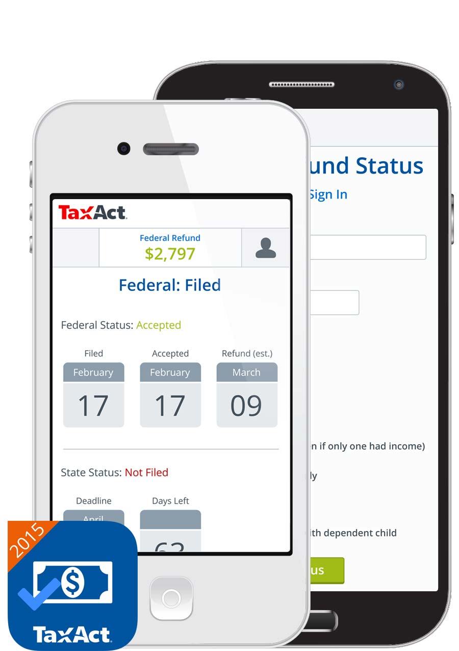 Tax Return Status by TaxAct