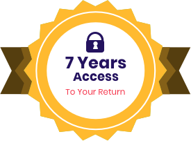 7 years of access to your return