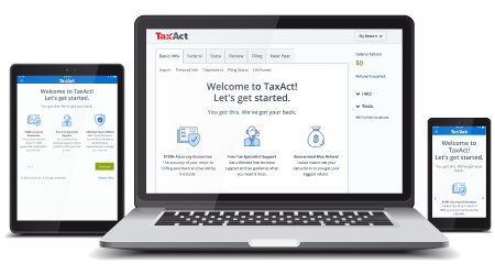 TaxAct Online 2017 Sole Proprietor Edition