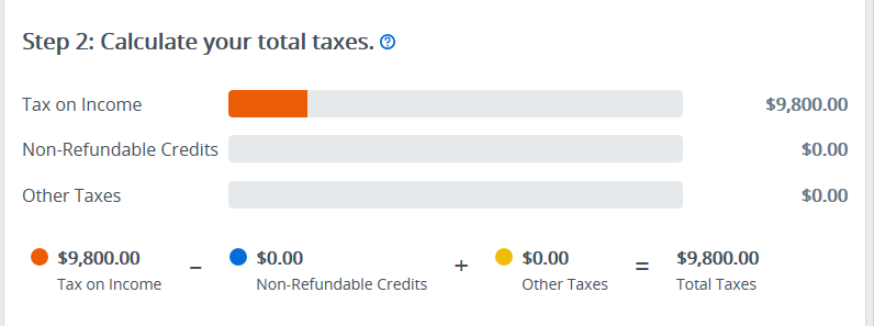 Refund snapshot illustrated view2 – TaxAct Professional